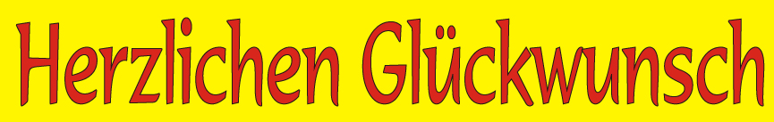 herzliche-glueckwunsch-gelb